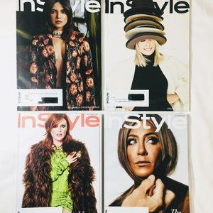Like New Instyle magazines 4 issues 2019